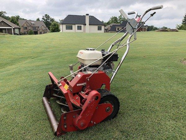 tru cut to mow golf course lawn